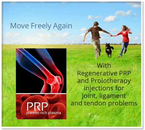 Platelet Rich Plasma - PRP - Move Freely